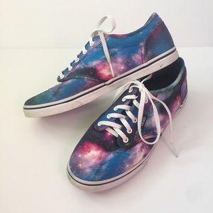 Vans Women's cosmic Galaxy Sneakers size 7.5